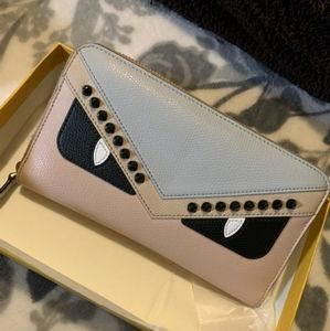 Fendi continental Monster wallet